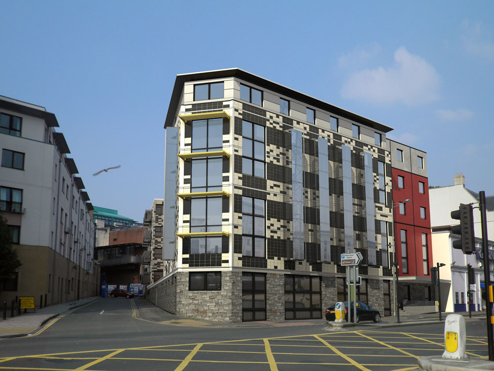 Student Accommodation, Harbour Court, Bristol